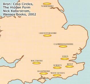 Crop Circle Map